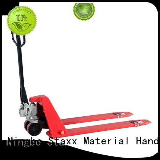 Staxx pallet trucks semi electric scissor lift ehls pallet truck 5500 lbs company for warehouse