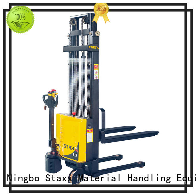 Staxx lift used hand pallet truck for business for warehouse