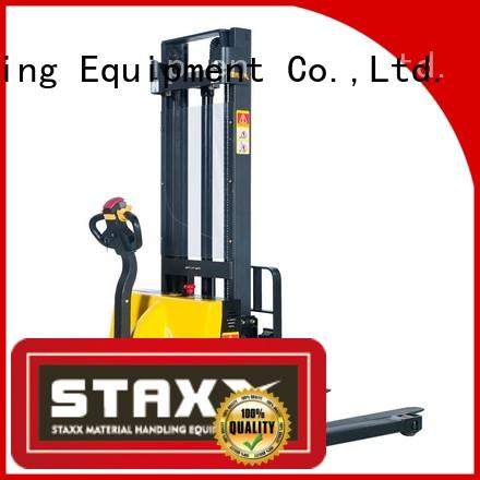 Staxx Wholesale scissor lift pallet jack for business for rent