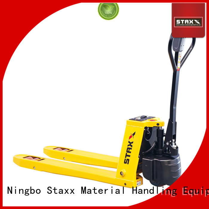 Staxx Custom foldable pallet jack company for warehouse