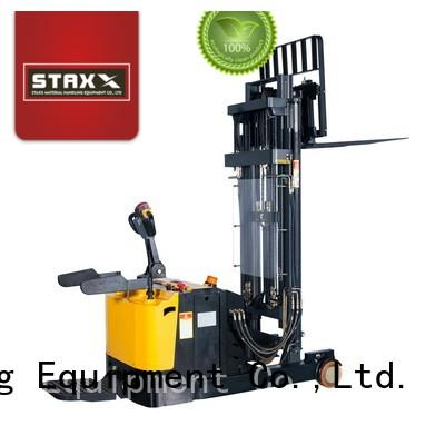 Staxx High-quality full electric stacker for business for rent