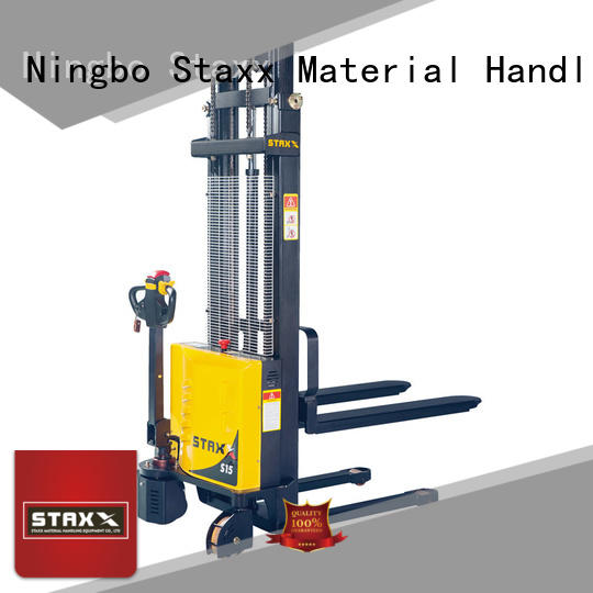 Staxx Wholesale pallet lift stacker company for hire