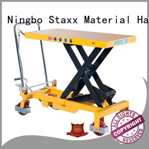 Staxx stacker scissor jack lift table for business for stairs
