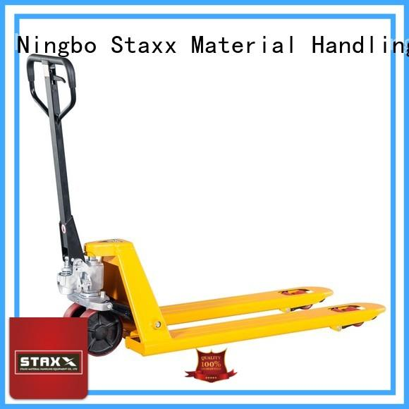Staxx truck high lift pallet jack factory for stairs
