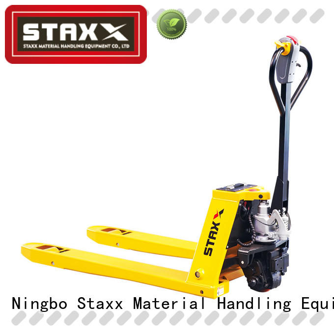 Staxx New short pallet truck manufacturers for warehouse
