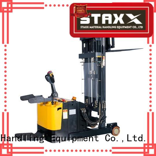 Staxx fork hydraulic stacker lift manufacturers for rent