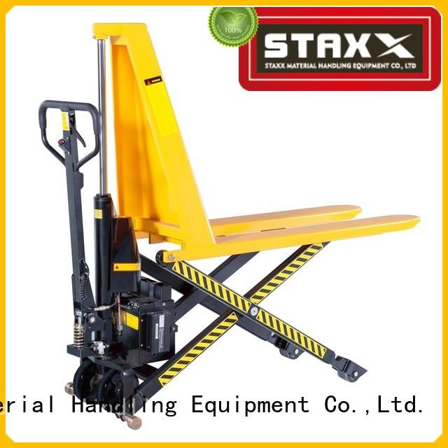 Staxx Wholesale mini pallet truck for business for hire