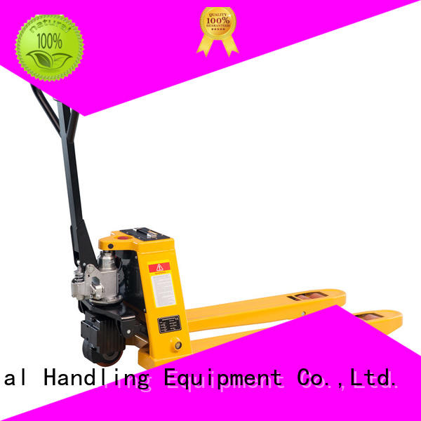 Latest used hand pallet truck semi Supply for warehouse