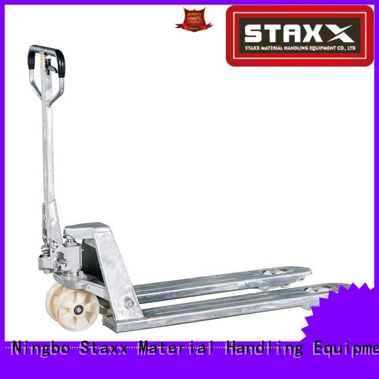 Staxx Custom hydraulic hand pallet truck forklift Suppliers for hire