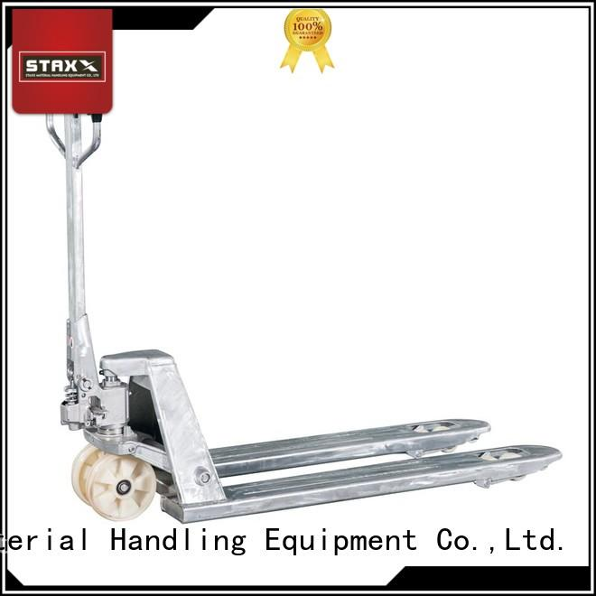 Staxx Custom 6 foot pallet jack for business for rent