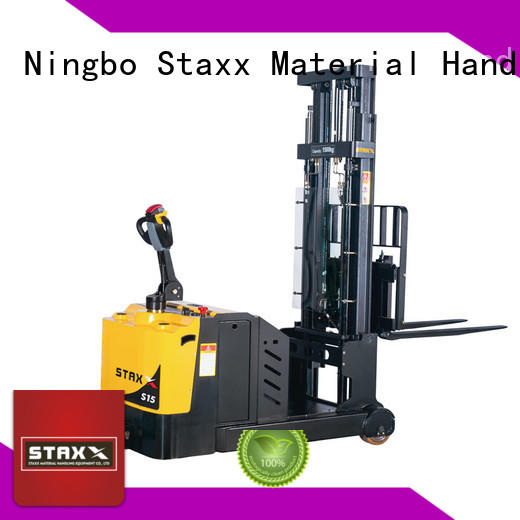 Best power stacker lift factory for warehouse
