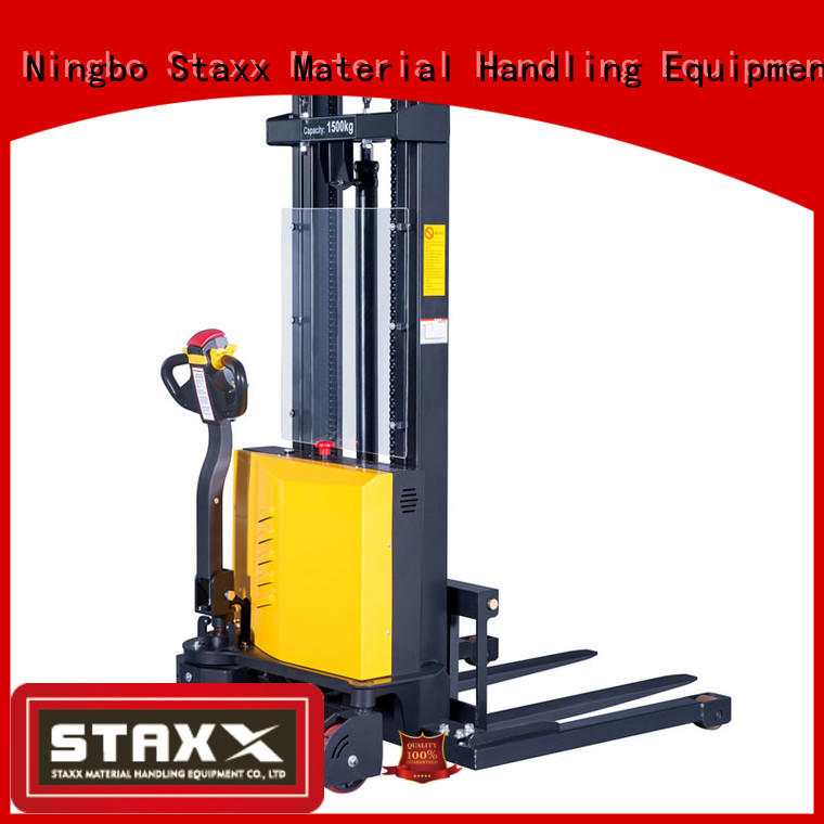 Staxx Custom manual forklift pallet stacker manufacturers for stairs
