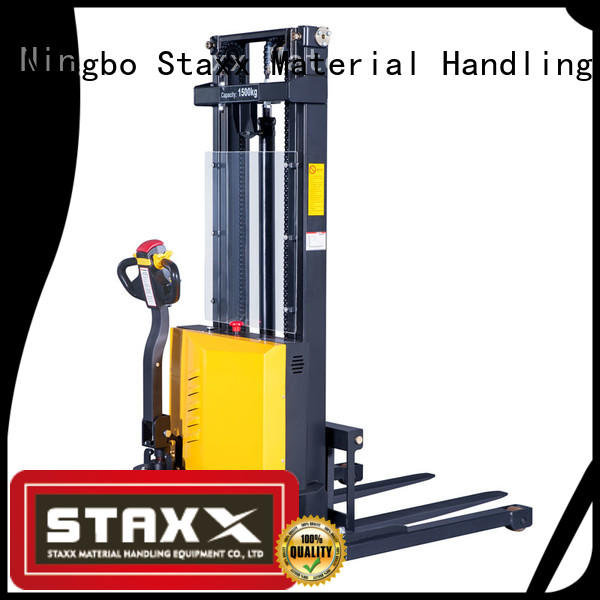 Staxx full hydraulic stacker lift for business for hire