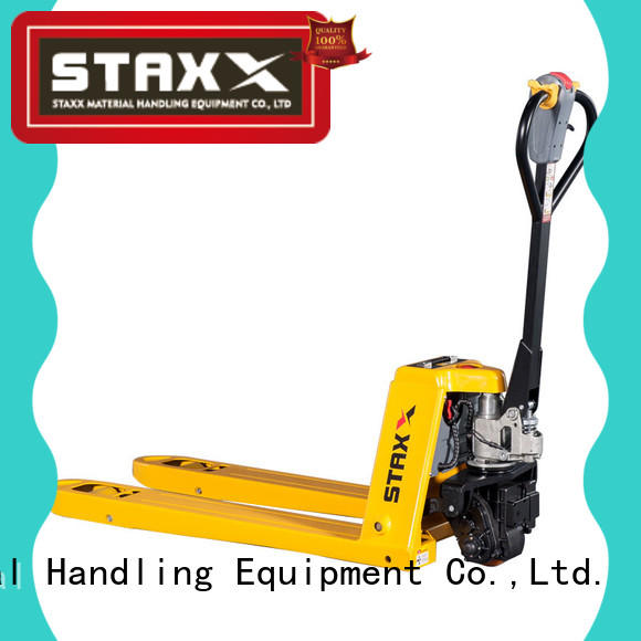 Staxx Custom hydraulic pallet truck trolley for business for hire