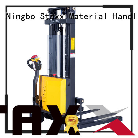 Staxx Top straddle pallet stacker manufacturers for warehouse