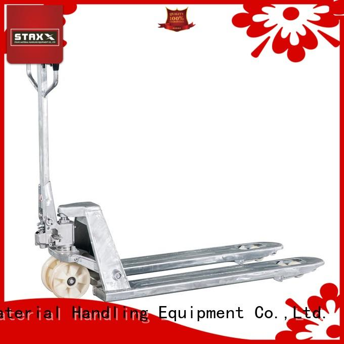 Staxx price pallet truck lifting capacity Supply for rent