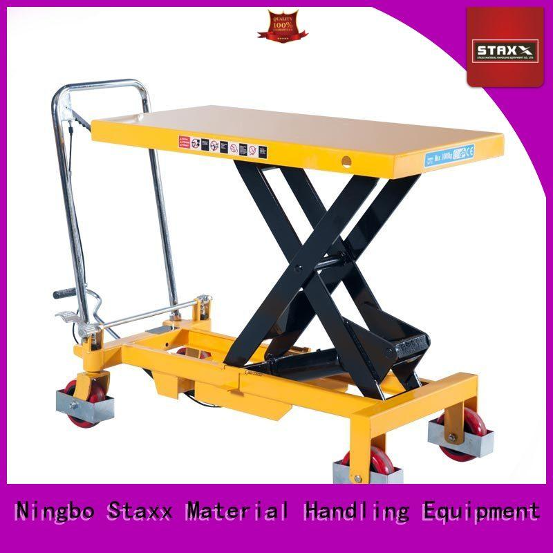 Custom types of scissor lifts kg factory for warehouse