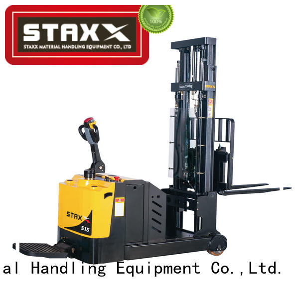 Staxx Best pallet stacker forklift manufacturers for warehouse