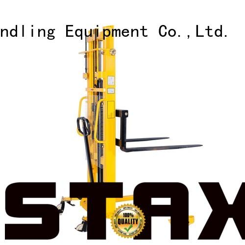Staxx Wholesale straddle forklift Supply for warehouse