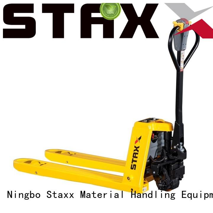 Staxx lithium walk behind pallet lift manufacturers for stairs