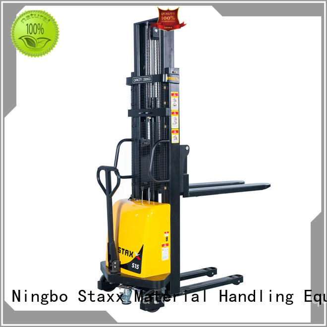Staxx fork manual pallet lifter factory for warehouse