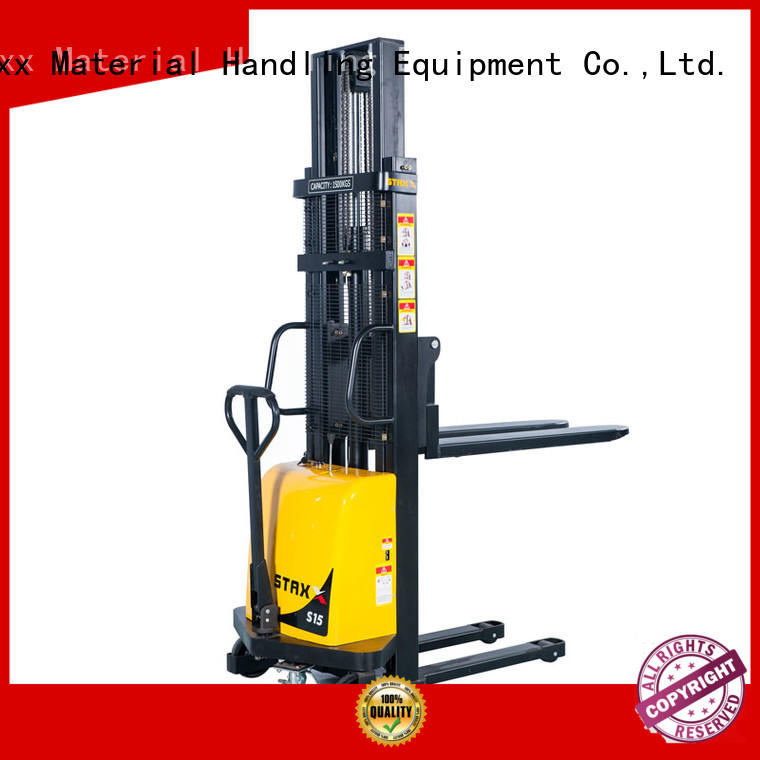 Staxx series electric pallet truck stacker Suppliers for hire