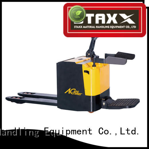 Staxx Top riding pallet jack for business for stairs