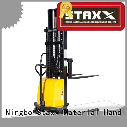 Staxx semielectric straddle pallet jack Suppliers for stairs