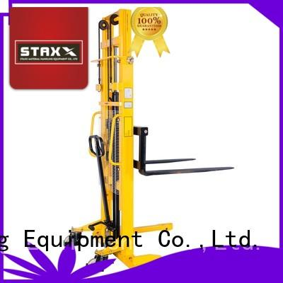 Staxx over hydraulic pallet manufacturers for warehouse