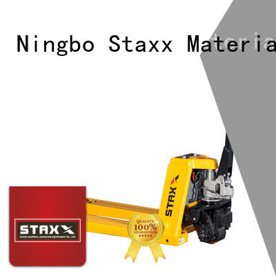Staxx rider extended fork pallet jack company for hire