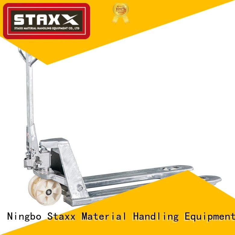 Staxx steel short fork pallet jack Suppliers for warehouse