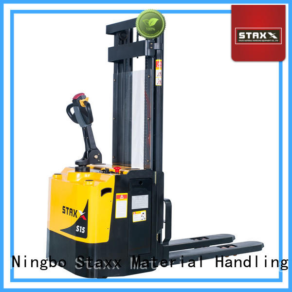 Staxx Top second hand electric pallet trucks manufacturers for rent