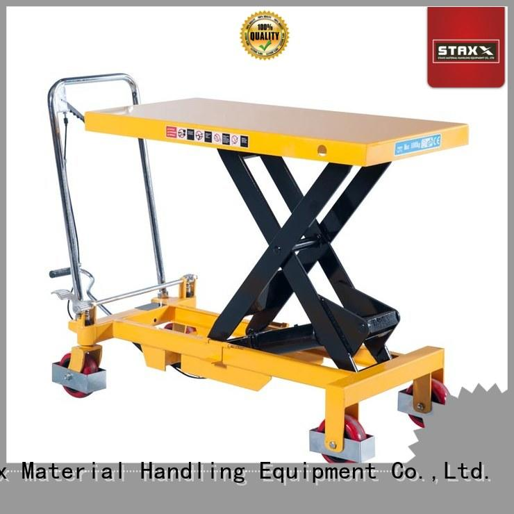 Staxx lift hydraulic scissor lift suppliers factory for hire