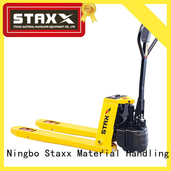 Staxx lithium hand pallet truck with scales for business for rent