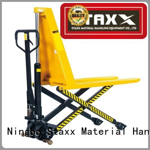 Staxx duty manual hand jack manufacturers for warehouse