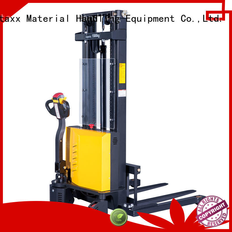 Staxx Custom full electric stacker Suppliers for stairs