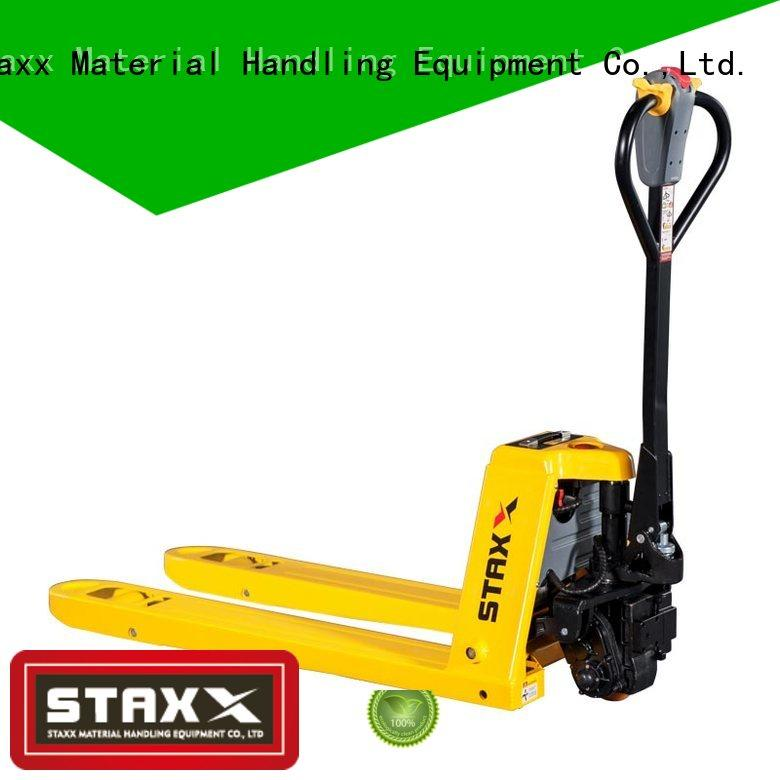 Staxx New pallet truck capacity manufacturers for rent