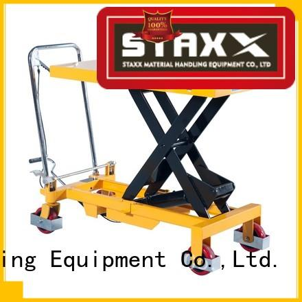Staxx High-quality small hydraulic scissor lift for business for hire