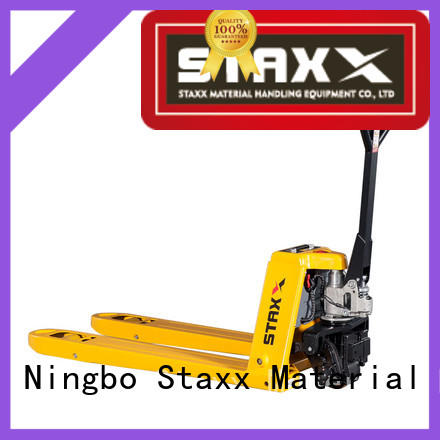 Latest pallet jack manufacturers powered Supply for rent