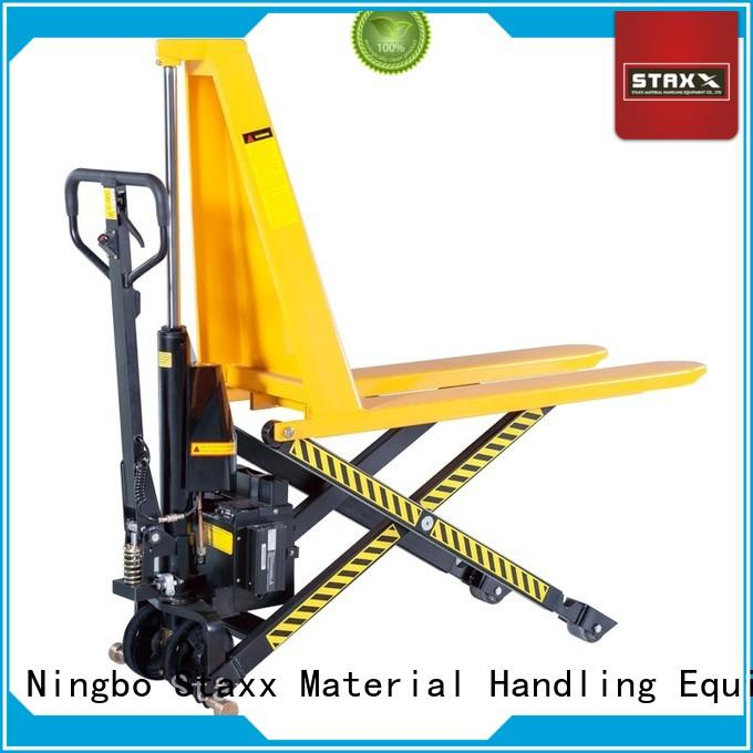 Staxx Best skinny pallet jack manufacturers for warehouse