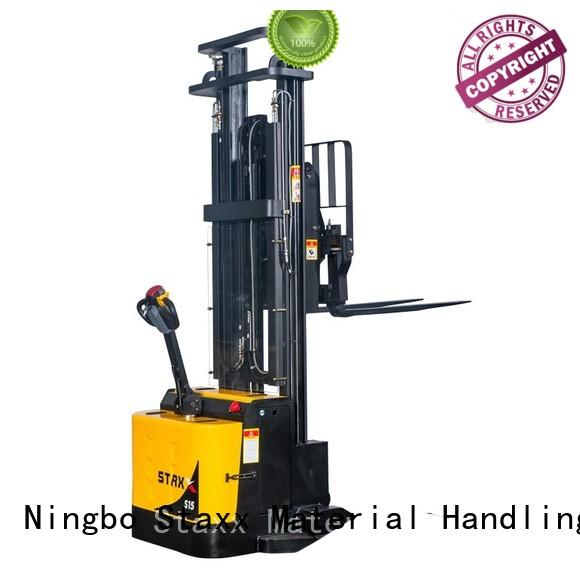 Staxx specifications semi electric pallet stacker manufacturers for rent