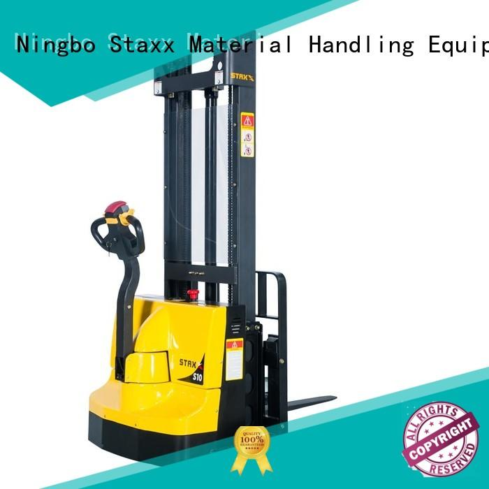 Staxx New electric stacker specifications factory for stairs