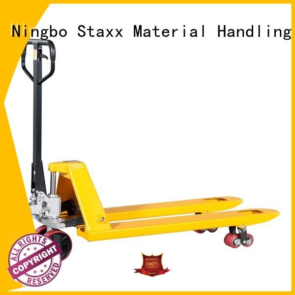 Staxx scale pallet jack pump factory for rent