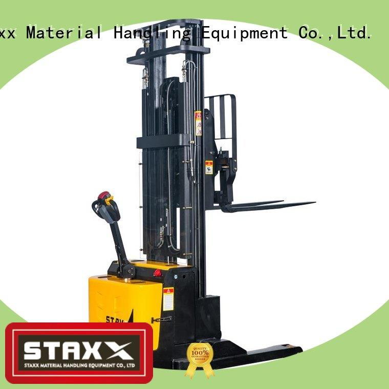 Staxx fork tilting pallet jack manufacturers for stairs