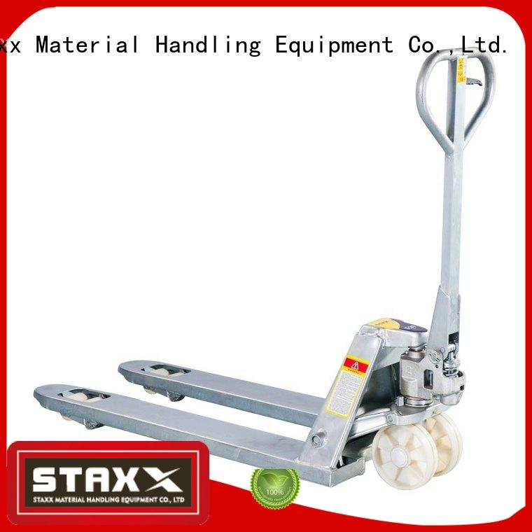 Staxx High-quality pallet jack that lifts manufacturers for warehouse