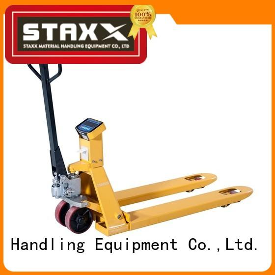 Staxx Wholesale global pallet jack company for hire