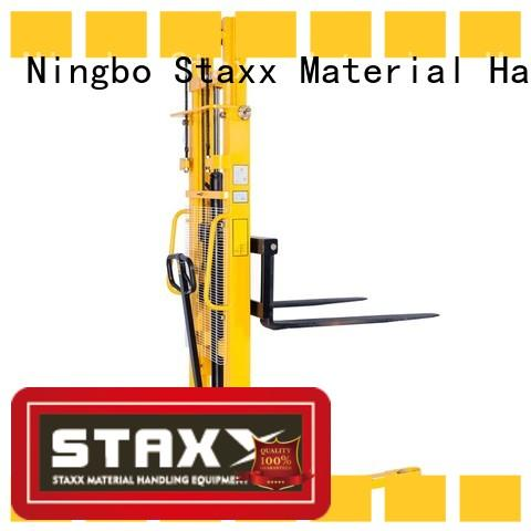 Staxx Top reach pallet stacker Supply for stairs