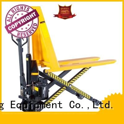 Staxx lift pneumatic pallet jack factory for warehouse