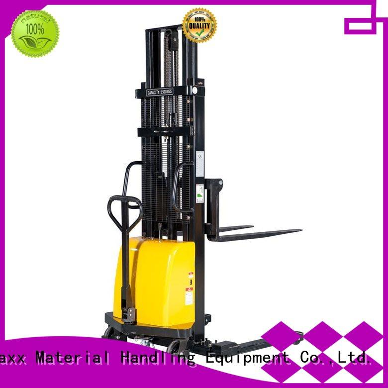 Staxx straddle straddle reach truck for business for stairs