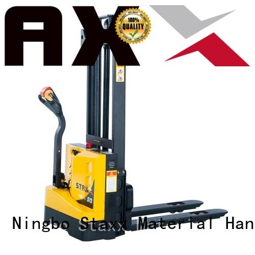 Staxx specifications high lift pallet truck Supply for warehouse